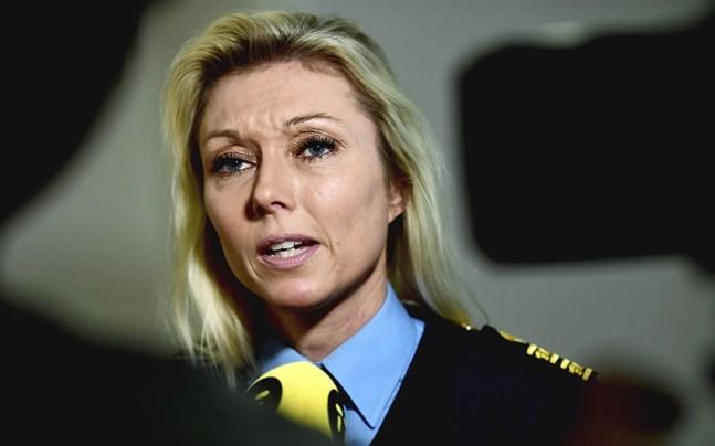 Linda H Staaf, chef för underrättelseenheten på nationella operativa avdelningen vid Polismyndigheten i Sverige.