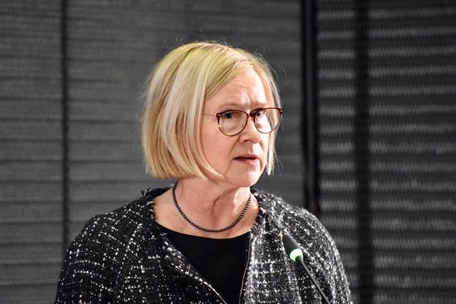 Åbo Akademis rektor Moira von Wrights ledarskap kritiseras, enligt Åbo Underrättelser. Arkivbild.