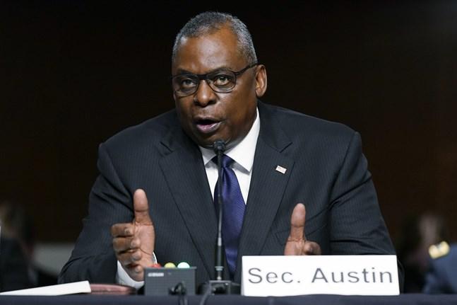 USA:s försvarsminister Lloyd Austin frågas ut i senaten.