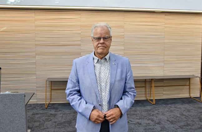 Olli Luukkainen, ordförande för Undervisningssektorns Fackorganisation, säger att strejkviljan bland organisationens medlemmar är stark. Arkivbild.