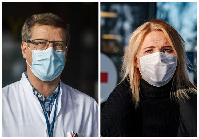 Juha Salonen och Marina Kinnunen.