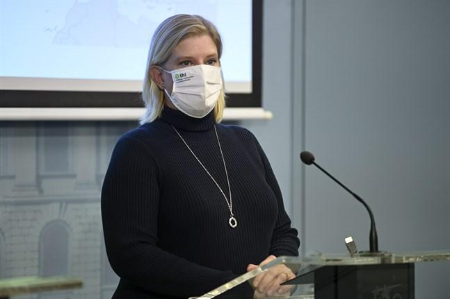 Mia Kontio, expert på Institutet för hälsa och välfärd.