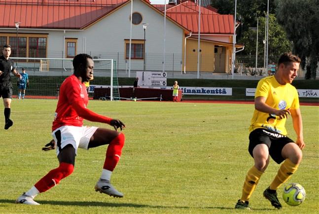 Antou Badjan valdes till årets spelare i Sporting Kristina.