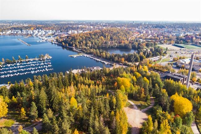 Lahtis är i år Europas miljöhuvudstad.