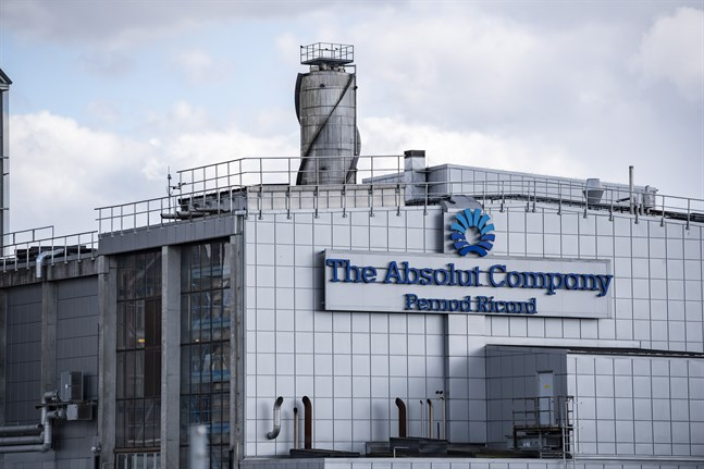 The Absolut Companys anläggning i Nöbbelöv utanför Kristianstad. På destilleriet i Nöbbelöv tillverkas finspriten till Absolut Vodka.