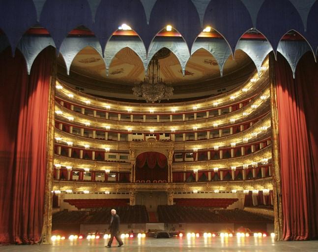 Bolsjojteatern i Moskva. Arkivbild.