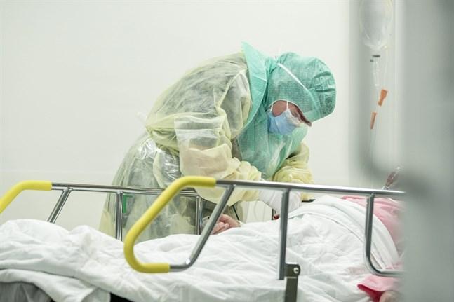 Fler patienter än tidigare behöver nu sjukhusvård för covid-19 inom Södra Österbottens sjukvårdsdistrikt.