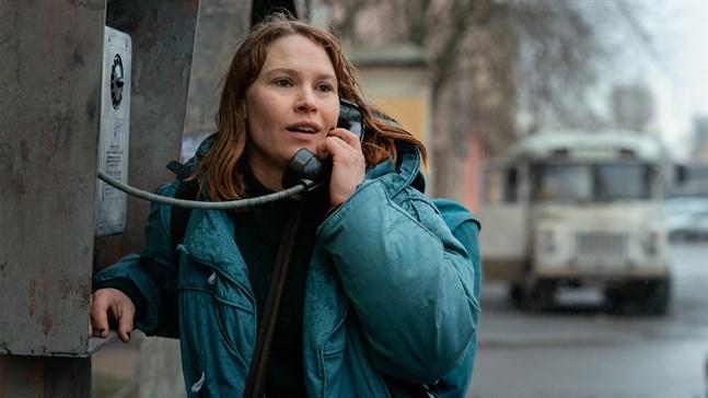 """Seidi Haarla har en av huvudrollerna i filmen """"Kupé nr. 6""""."""
