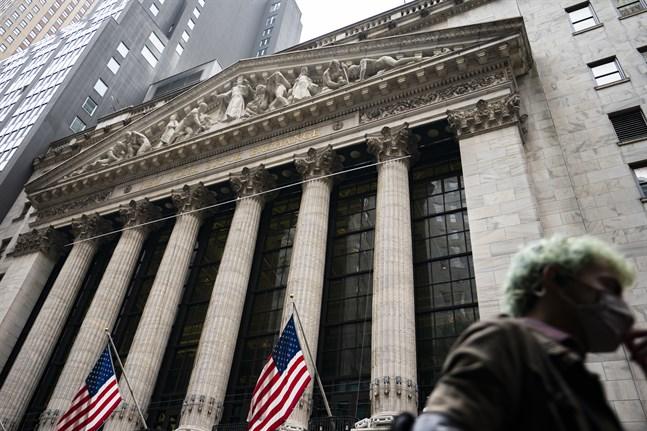 Investerarna i börshuset i New York var inte på glatt humör under tisdagens handel. Arkivbild.