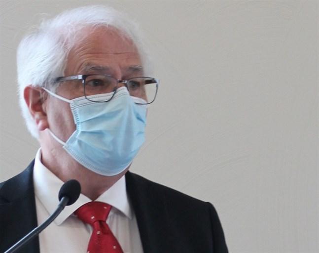 Stig Östdahl är ordförande för valberedningen och kan nu presentera namnen på två personer som vill bli ny ordförande för Svenska pensionärsförbundet.