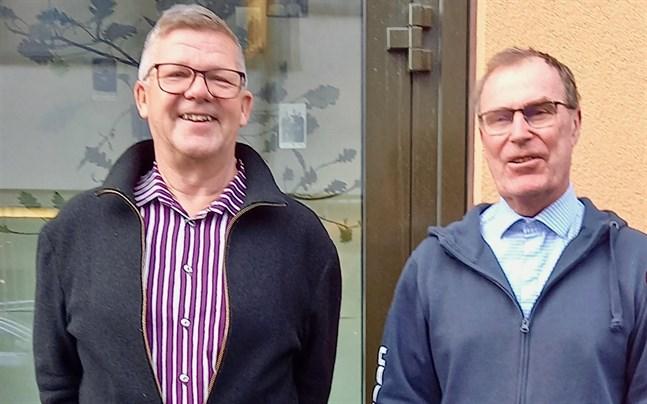 Jan-Erik Nyberg är chef på familjerådgivningen. Roger Eriksson är ordförande för direktionen.