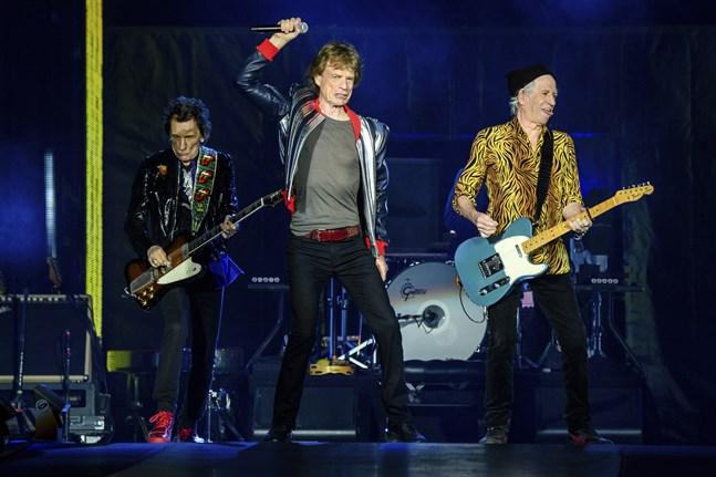 """Ronnie Wood, Mick Jagger och Keith Richards är ute på """"No filter""""-turnén."""
