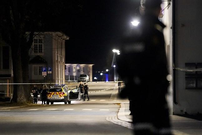 Fem personer har dödats och två har skadats av en man med pilbåge som angripit människor i Kongsberg.