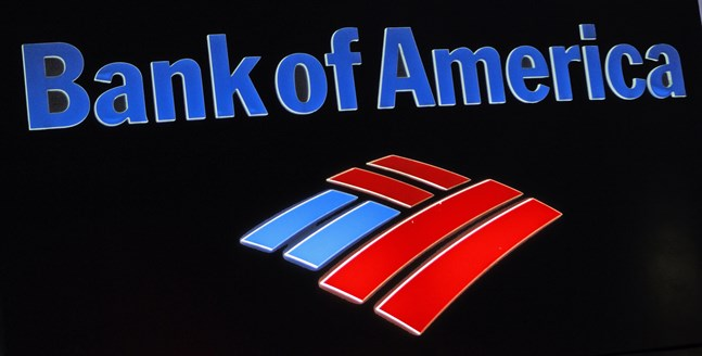 Bank of America får liksom andra amerikanska storbanker draghjälp av återtag av avsättningar för befarade kreditförluster.