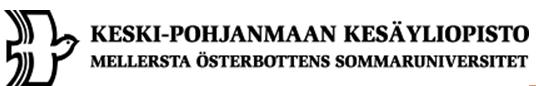 Keski-Pohjanmaan korkeakouluyhdistys r.f.
